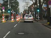 Baustelle und Verkehrsänderung in Zündorf!